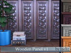 Ineliz's Wooden Panel v1