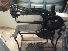 antike Schusternähmaschine Sattlernähmaschine Nähmaschine PATENT ELASTIC um 1900 in in Floh-Seligenthal | eBay