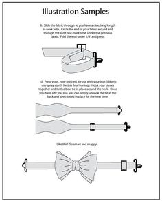 Mr. Hipster Bow Tie Pattern eBook pdf Men by HipsterHaberdasher: