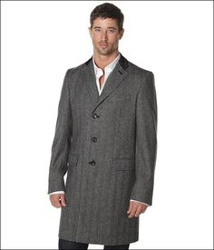 My Chesterfield was tailored a bit more like this gentleman's coat...very, very classic!