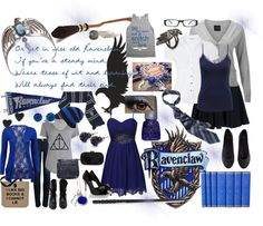 """Ravenclaw House"" by writemydreams on Polyvore"