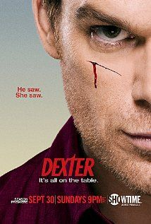 Dexter is a BLOODY great show..pardon the pun. ;) #tv #series