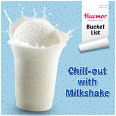 "#HavmorBucketList item no. 10: ""This year, if I'm having a bad day at work, instead of cursing  my boss, I shall cool down with a  sweet Vanilla Milkshake by  Havmor."""