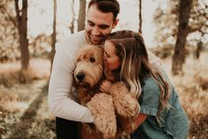 engagement photos with dogs - Engagement Photos - engagement photos with dogs – Engagement Photos - Dog Engagement Photos, Engagement Shots, Engagement Couple, Engagement Photography, Winter Engagement Pictures, Country Engagement, Dog Photos, Family Photos, Family Pictures Dog