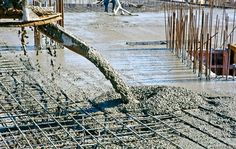 Segregation means parting of various concrete phases. It occurs if concrete mix is not consistent enough.