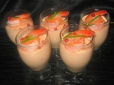 recette de cuisine verrines de mousse de crevettes                                                                                                                                                                                 Plus