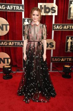 Claire Foy at the 2017 SAG Awards