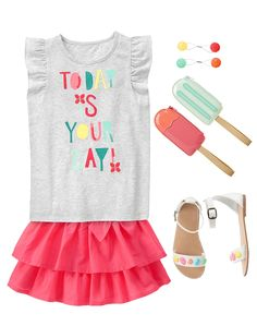 Girls Clothes, Girls Outfits Kid Girls Clothing & Accessories at Gymboree