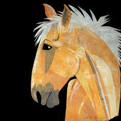 Palomino Pony by Carol A. Watson   $25 CarolAWatson.com