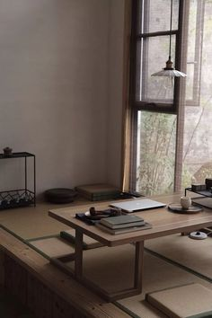 architecture/design/inspration in 2020 Japanese Style House, Japanese Interior Design, Japanese Home Decor, Home Interior Design, Interior Architecture, Interior Decorating, Living Room Japanese Style, Tatami Room, Aesthetic Rooms