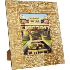 "Gold Tone Mosaic Photo Frame 8""x10"" - TK Maxx"
