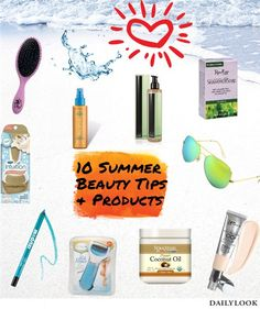 10 Summer Beauty Tip...
