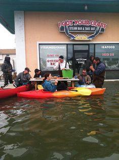 Hurricane Sandy? What Hurricane Sandy?