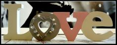 napis litery love