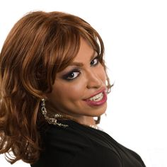 Camera Ready crossdressing wig. Available from DressTech at ProCrossdresser.com