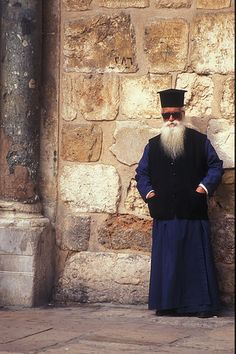 Greek Orthodox Priest - Jerusalem