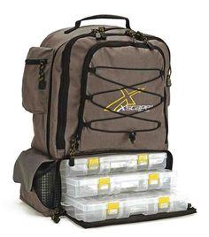 Backpack Fishing Tackle Bag 1 Fishing Rod, Fishing Stuff, Fishing Tips, Crappie Fishing, Buy Fish, Fish In A Bag, Fishing Tackle Bags, Fishing Backpack, Tackle Box