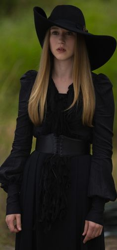 Taissa Farmiga as Zoe Benson in American Horror Story: Coven. Costume Designer: Lou Eyrich