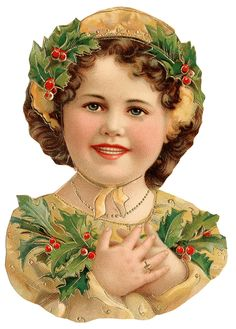 Karácsony - Somogyi Erika - Picasa Web pages of vintage Christmas art for crafting! Clip Art Vintage, Vintage Paper Dolls, Vintage Ephemera, Vintage Christmas Images, Victorian Christmas, Kids Christmas, Xmas, Prim Christmas, Outdoor Christmas
