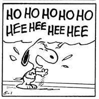 Laughter is the best! Oh Snoopy