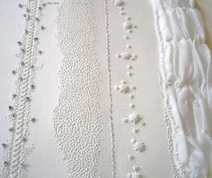 Paper embroidery by Karen Ruane.