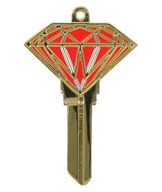 gold house key. Key Chains 169280: Diamond Supply Co Metal Gold And Red Brilliant Rare New -\u003e BUY IT NOW ONLY: $60 On EBay! House