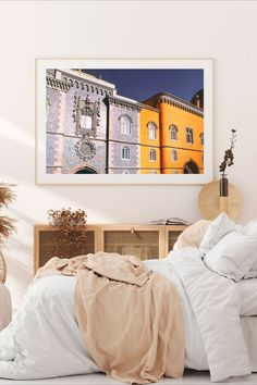 Portugal Poster Lisbon Wall Art Downloadable Prints Prints Portugal Printable Wall Art Sintra#wallartdecor #wallartlivingroom #wallartprintables
