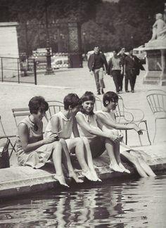 """Paris 1967 """"Jardin des Tuileries"""""""