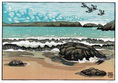 Oystercatchers BY IAN PHILLIPS