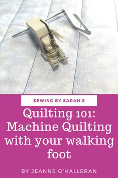 Quilting 101, Machine Quilting, Walking Foot Quilting, Straight Line Designs, Quilts, Inspiration, Biblical Inspiration, Quilt Sets, Log Cabin Quilts