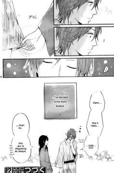 Nijiiro Days Mari x Mattsun cute manga scene
