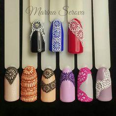 Объёмное кружево арт-гелем #plastiline от @s.surkova Нереально крутой гельТак интересно и легко с ним работать☺#обьемноекружево#дизайнногтей #nails #nailart#beautifulnails#naildesigner#ногтичехов#MarinaSerova#ручнаяроспись#идеиманикюра