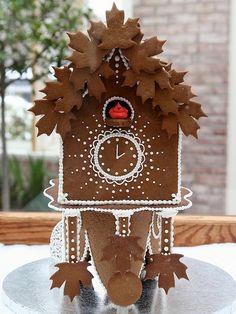 gingerbread cuckoo clock  gingerbread house