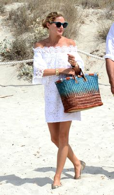 Olivia Palermo en Formentera. © Cordon Press
