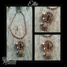 Find us on facebook, Mandato Jewelry Designs:... love how it looks like a hot air balloon