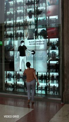 Interactive Installations showcase at the Milano Duomo store. Interactive Exhibition, Interactive Walls, Interactive Display, Interactive Media, Interactive Installation, Interactive Design, Interactive Marketing, Experiential Marketing, Guerrilla Marketing