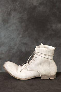 LAYER-0 – Lace Up Reverse Shell Cordovan Boots PNP-firenze #layer0 #pnpfirenze