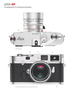 The Leica MP, from @Leica Camera