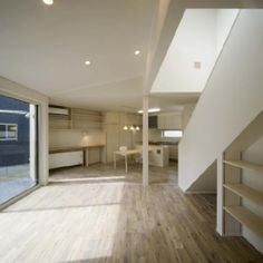 Piano House is a minimalist house located in Aomori, Japan, designed by F + F Architects.