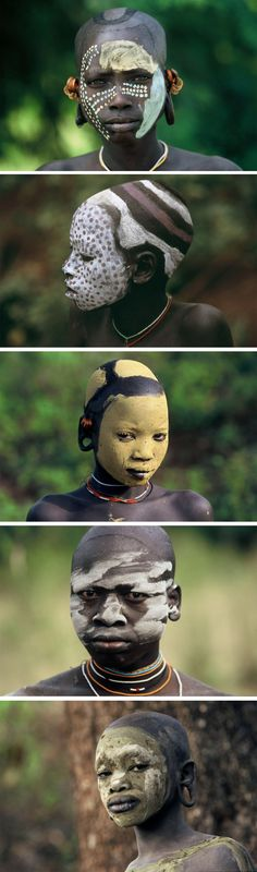 Africa | Children of the Omo Valley, Ethiopia | ©Hans Silvester