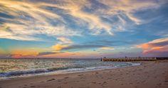 Bald Head Island Sunset by; Nathan Firebaugh Photography www.nfirebaughimages.com