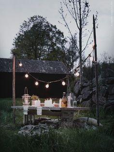 Skymningsmiddag i det fria (via Bloglovin.com )