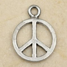 24x9mm venus of willendorf high quality lead free cast fine pewter peace sign symbol pewter charm pendant aloadofball Images