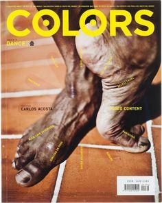 'Dance' theme cover for COLORS magazine Editorial Layout, Editorial Design, Page Design, Book Design, Apocalypse, Slogan, Ballet Boys, Ballet Feet, Posters