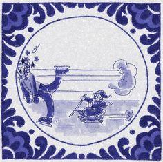 IJsschaatsen, Delfts Blauw, Paddy Eline Delft, Ice Skating, Netherlands, Amsterdam, Skate, Vintage, Art, Tiles, The Nederlands
