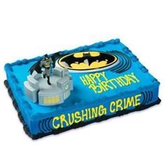 Birthday Parties Blog: Batman Birthday Cakes Cupcakes And Party Supplies