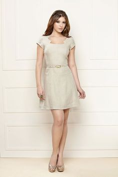 A Leila Costa me encanta com suas peças!  Lindo o decote desse vestido REF 091033