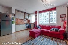 Apartament 2 camere Baba Novac stradal, Daniel Dobre Couch, Furniture, Home Decor, Cots, Settee, Decoration Home, Sofa, Room Decor, Home Furnishings