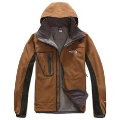 Mens The North Face Gore Tex Xcr Jacket Utility Brown
