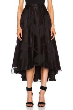 5c3e56856 alice & olivia tenty skirt   alice olivia black alice olivia tenty  evening skirt item